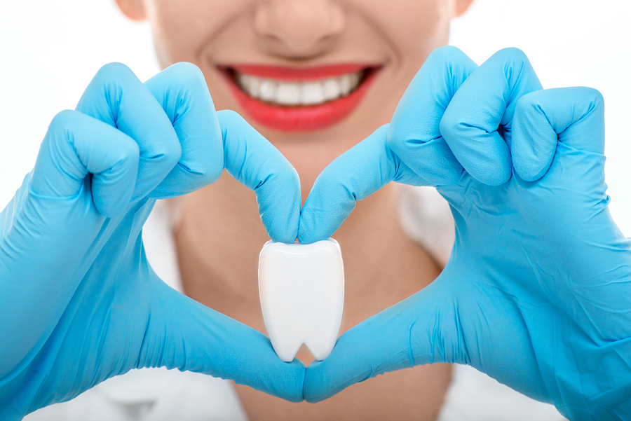 By caring for your teeth, you actually show love to your heart too!