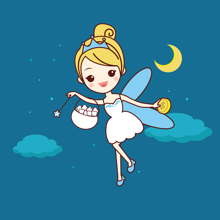 The Tooth Fairy as we would recognize her made her first appearance in the very early 1900s.