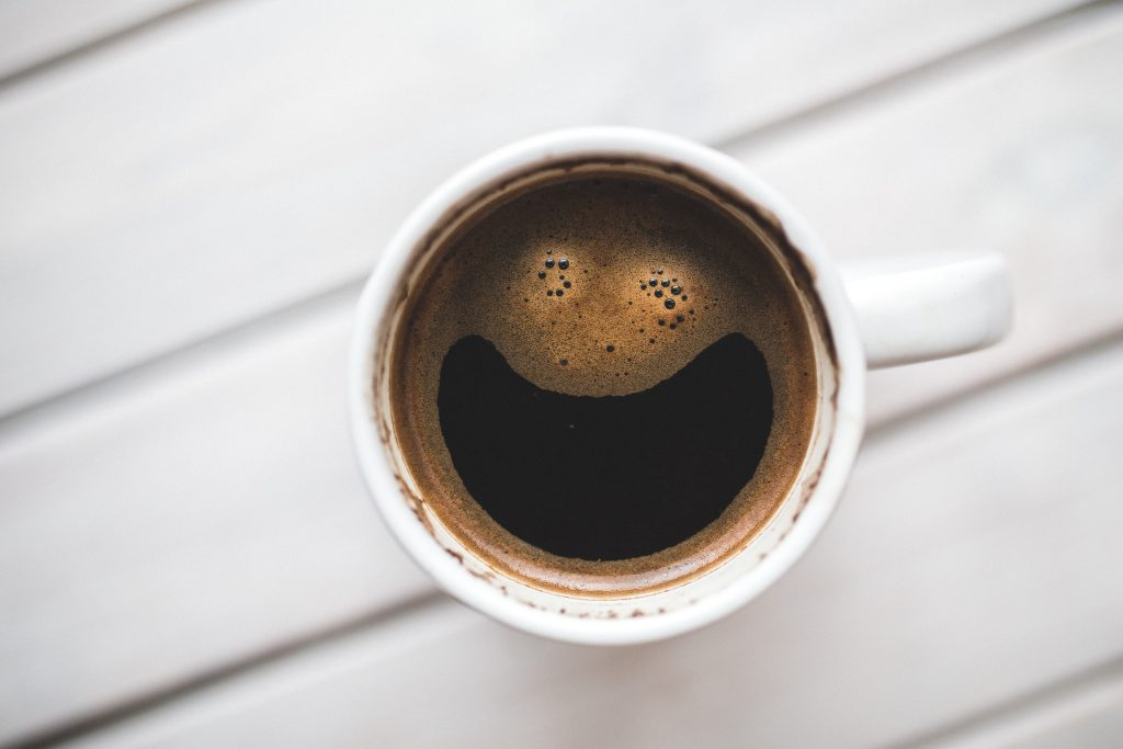 You can still drink coffee and maintain a white, healthy smile